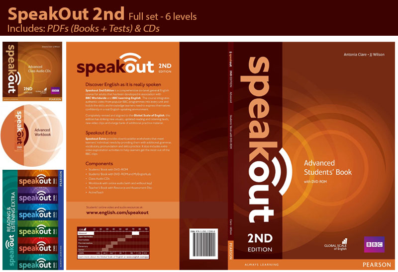 Free Download Pearson SpeakOut Advanced 2nd edition full